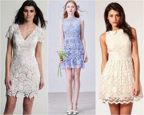Предел женственности... Красивые кружевные платья