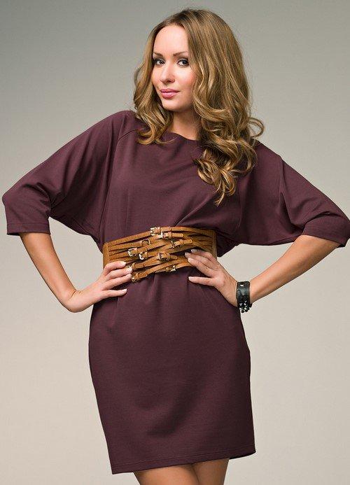 Модные платья летучая мышь - фото, вечерние и каждодневные платья с рукавом летучая мышь