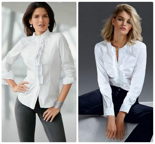 Модные белые женские рубашки 2019 картинки