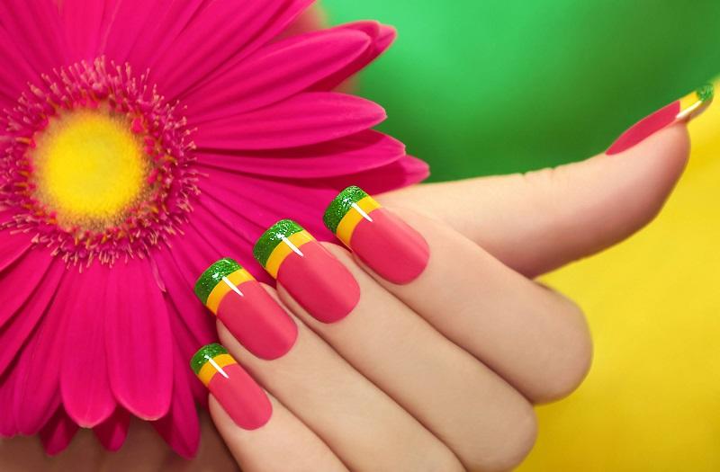 Картинки по запросу яркие ногти