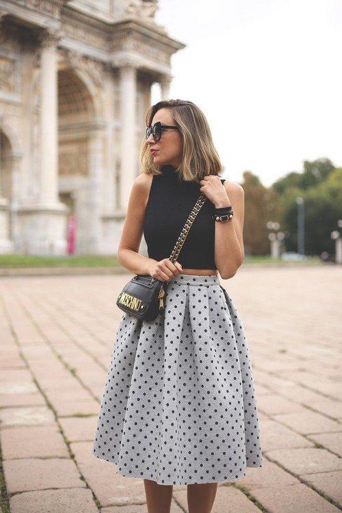 Модные юбки миди. С чем носить юбку миди - фото идеи, новинки, тренды