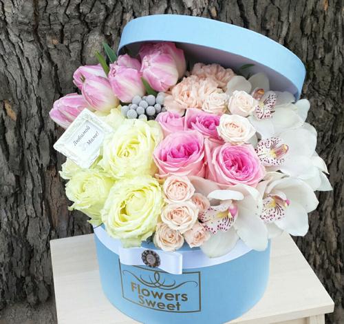 Как оформить цветы в подарок