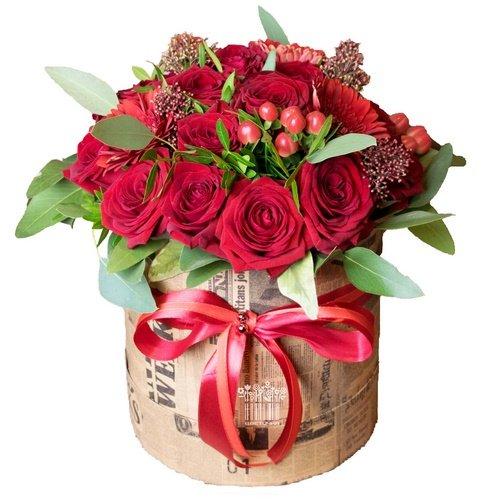 Фото с букетами цветов