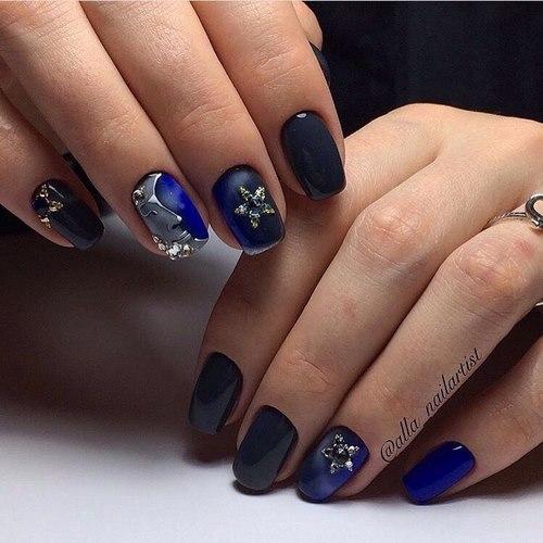Квадратные ногти 2018 фото новинки