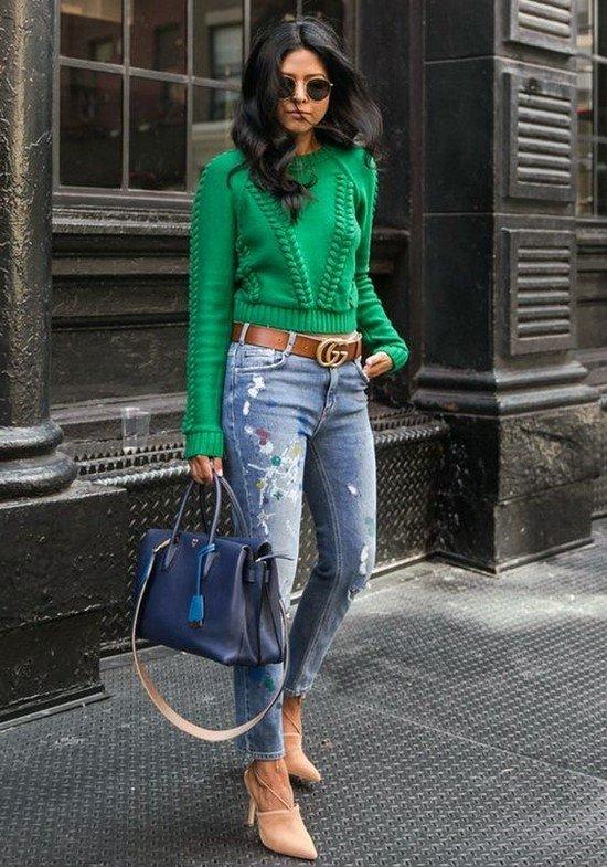 Модные кофты: фото, тенденции, фасоны