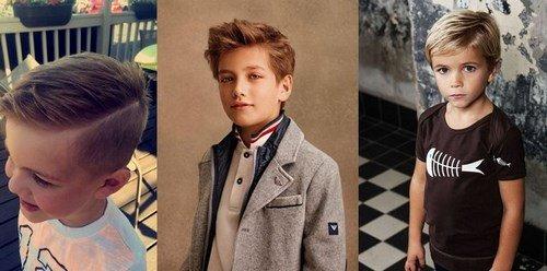 Модные стрижки для мальчиков. Фото идеи стрижек, тренды, тенденции
