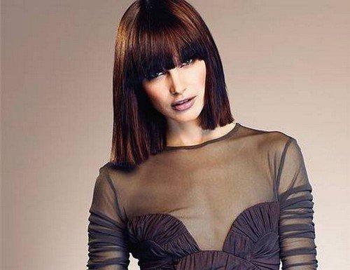 Модные стрижки на средние волосы - фото, тренды, идеи укладок