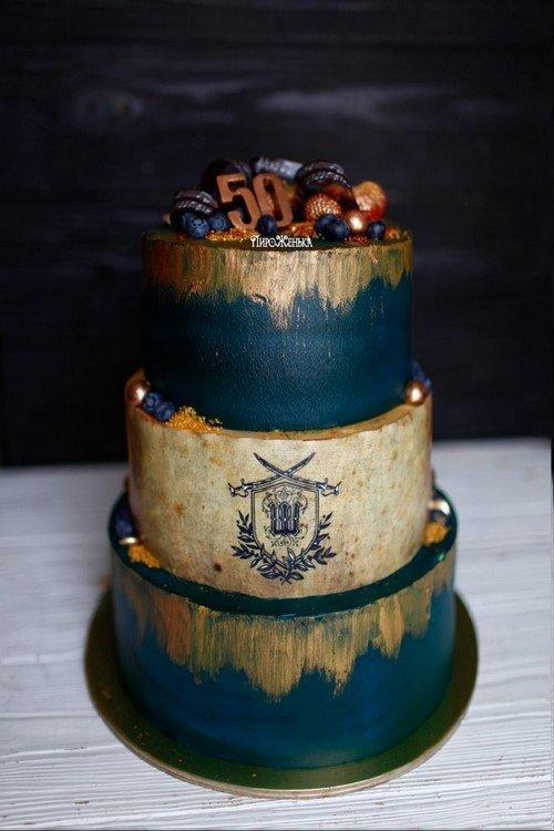 Самые красивые торты на юбилей - фото идеи оформления и декора тортов