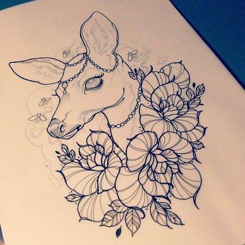 Эскизы тату для девушек: фото, дизайн тату, идеи рисунков