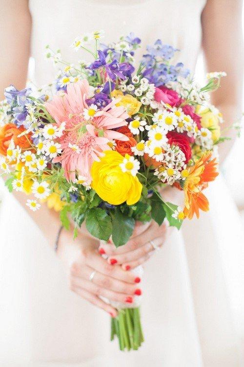 Красивые весенние букеты цветов и весенние цветочные композиции