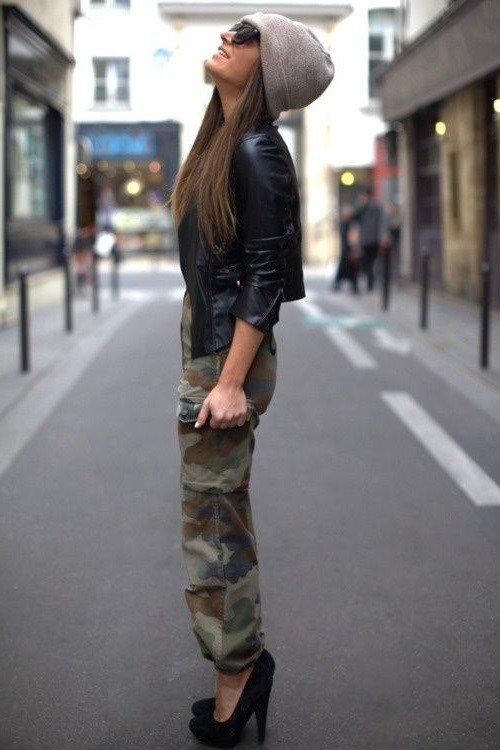 Необычный стиль милитари: фото, модные образы, идеи гардероба