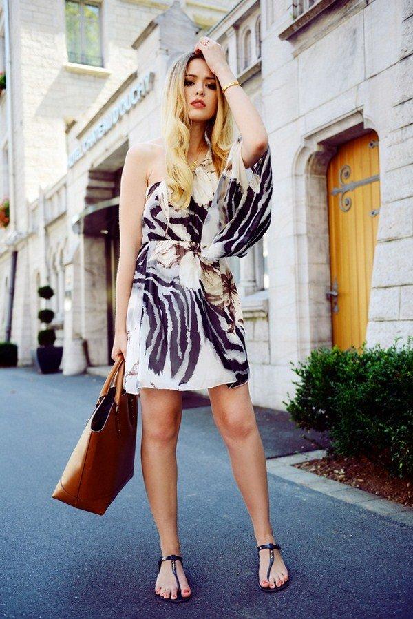Модные летние платья и сарафаны: красивые луки на лето