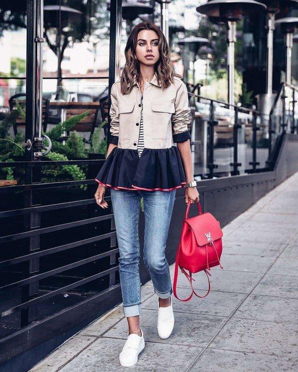 Трендовые жакеты и пиджаки в сезоне для женщин: фото