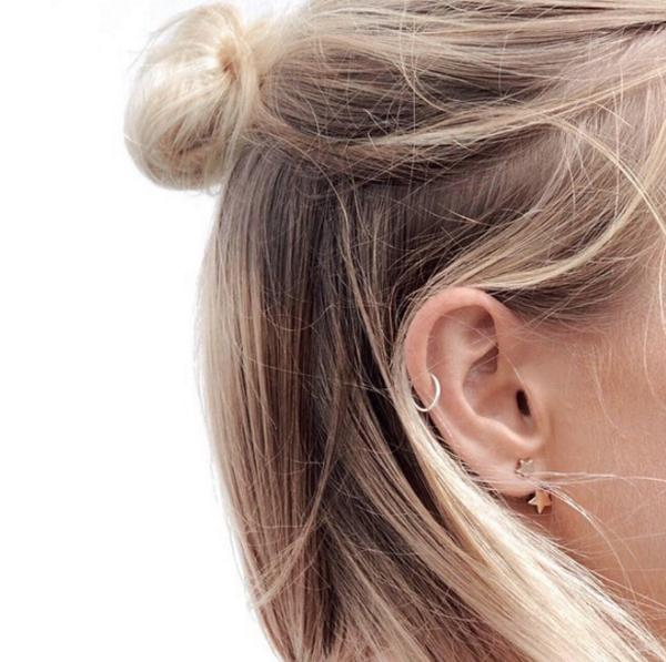 Пирсинг ушей: трендовые идеи и вариации пирсинга ушей
