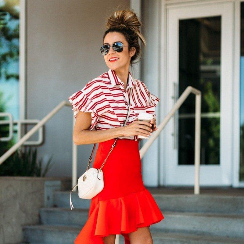aff7300099ba Модные блузки 2019-2020 - фото, тенденции, красивые женские блузки ...