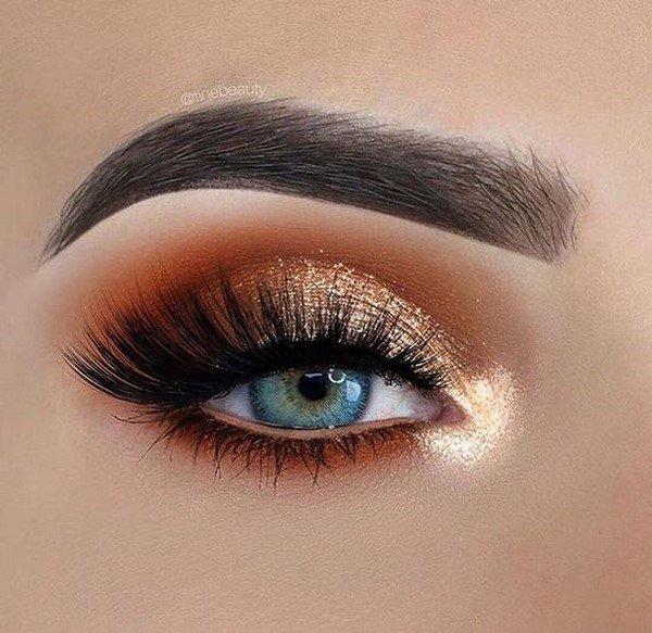 Блистательный макияж на Новый год: лучшие фото идеи новогоднего макияжа