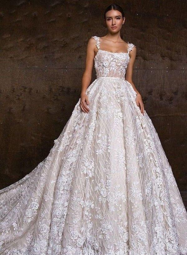 023d3c2b0e528c7 Красивейшие образы невест в модных свадебных платьях 2019-2020 года – фото  обзор трендов и тенденций