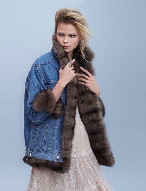 Джинсовые куртки - маст-хэв для демисезонных и зимних луков
