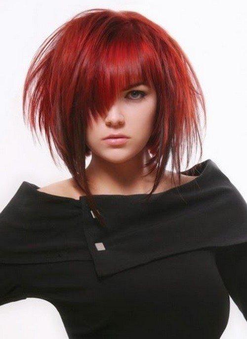 Модные стрижки с асимметрией - эффектные новации и стильные решения