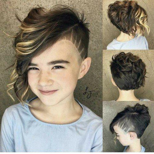 Короткие, средние, длинные стрижки для девочек - фото новинки и идеи