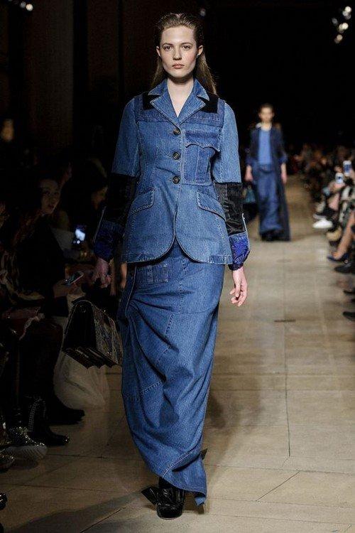 Джинсовые костюмы - актуальный тренд одежды из денима