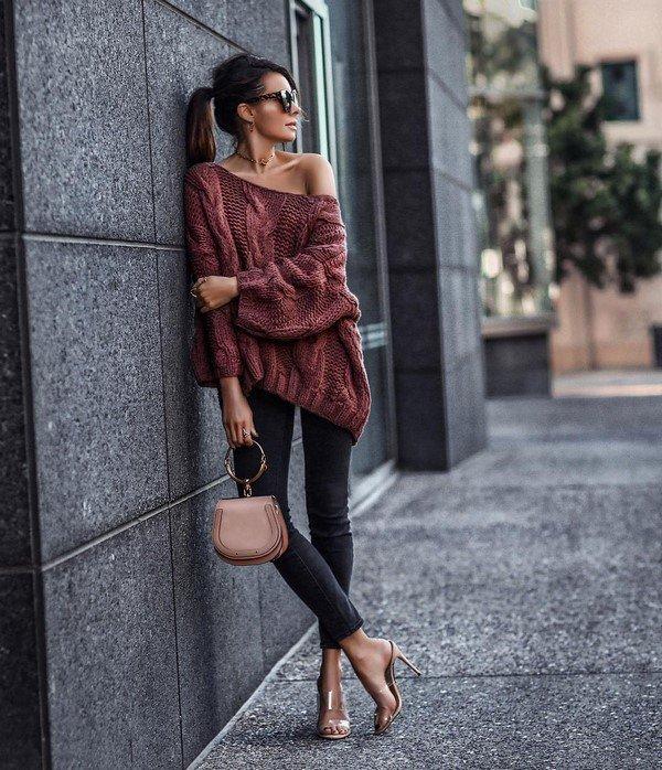 Женские свитера. Новинки, тренды, впечатляющие образы
