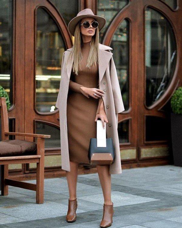 Зимние платья. Новинки фасонов, образов, идей