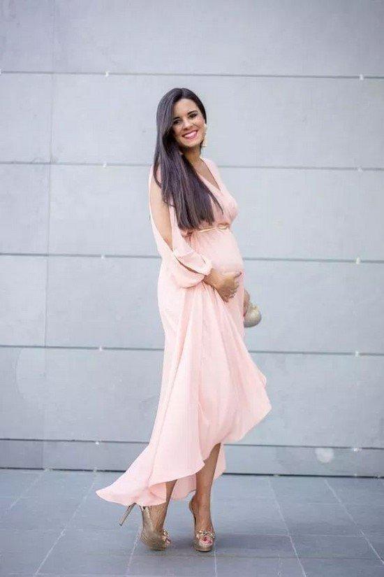 Беременные платья. Тренды. Идеи образов. Новинки фасонов