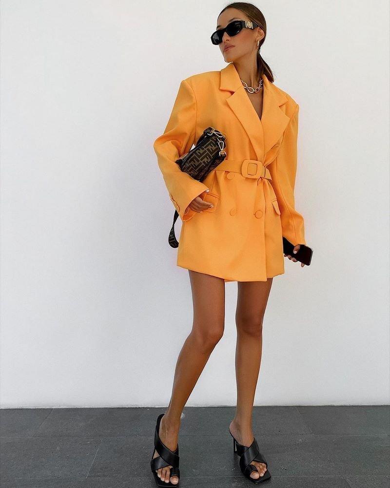 Платье Пиджак С Лодочками