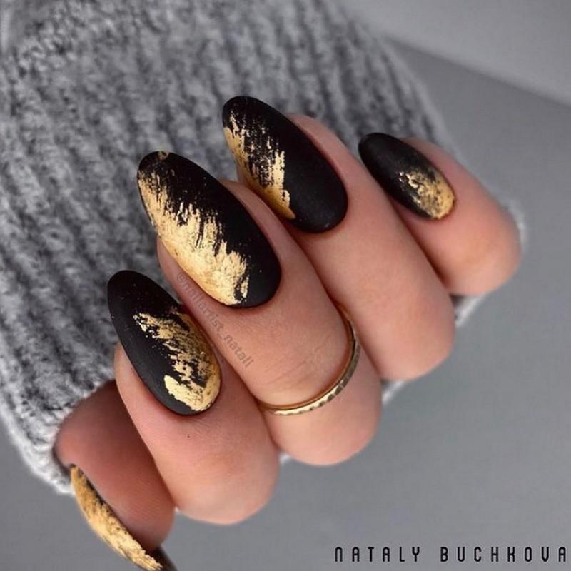 Потрясающие новинки зимнего дизайна ногтей 2021-2022: 80+ фото примеров