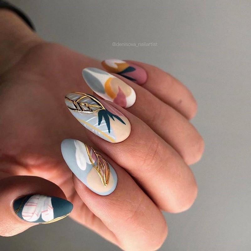 Новинки маникюра гель-лаком 2021-2022: интересные примеры дизайна ногтей гель-лаком на фото